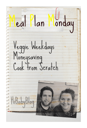 Meal Plan Monday – w/c 14-09-15