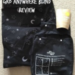 The Gro Anywhere Blind from The Gro Company is a portable blackout blind that fits virtually any window. It's perfect for use in your home and is highly portable for travel.