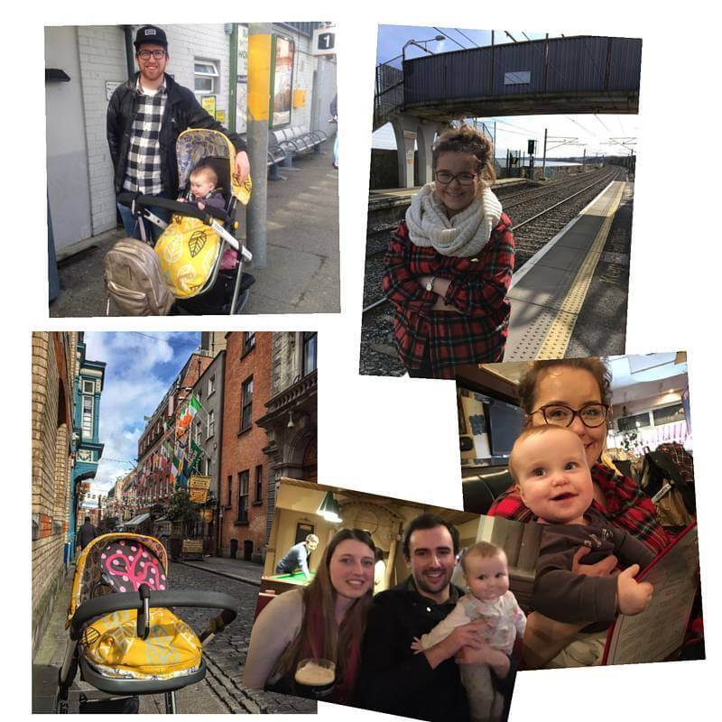 dublin family collage
