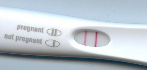 positive pregnancy test - Am I a real mum?