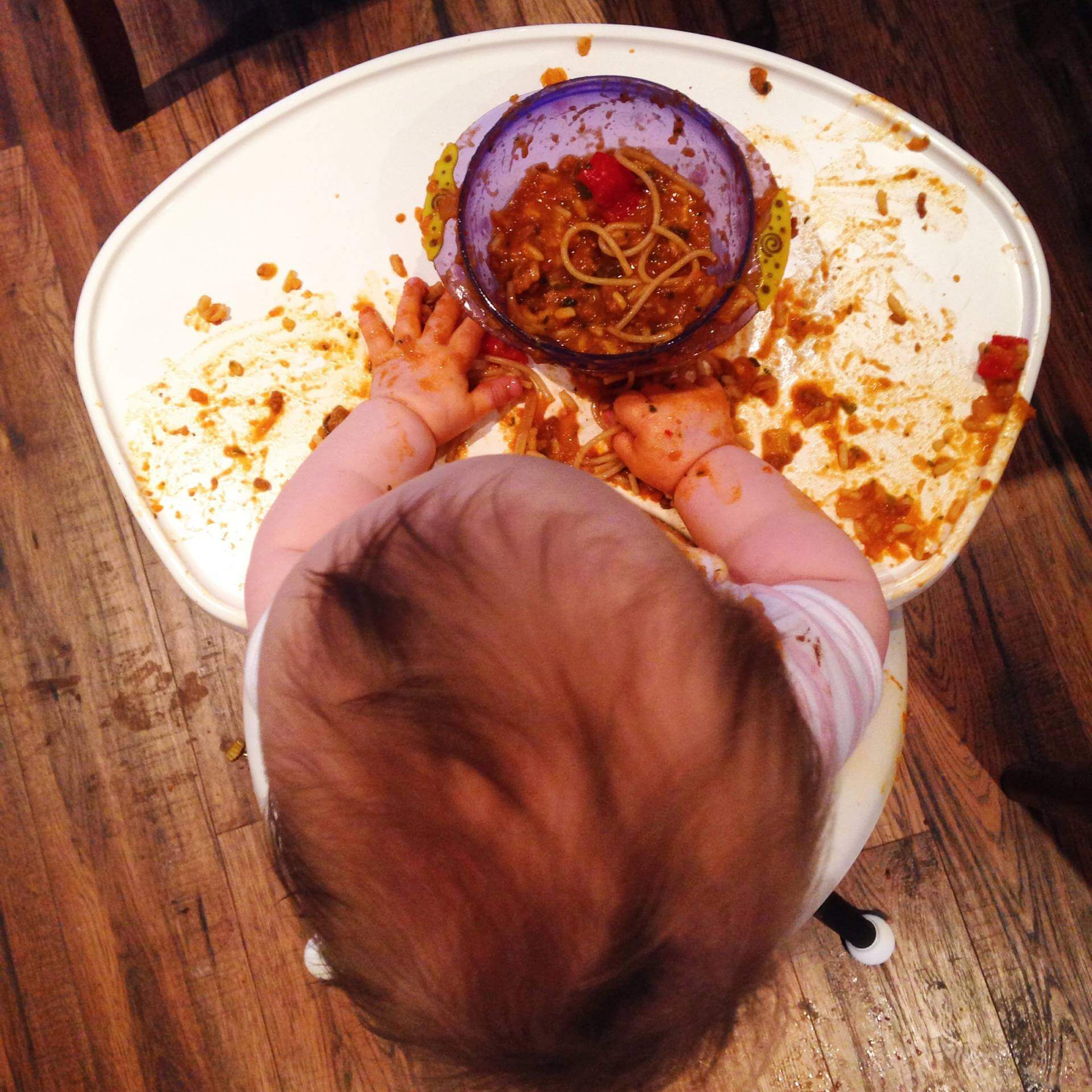 Whether you take a traditional approach to weaning or go down the baby-led route at some point you will have to deal with that awkward middle ground that is food with lumps. This can be a tricky time for baby and parents alike as eating lumpy food can be a new and confusing experience.