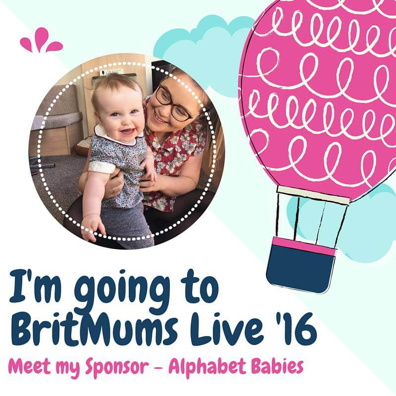 I'm Going to Britmums Live 16 – Meet my Sponsor