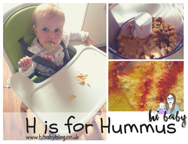 Cooking With Kids A-Z — H is for Hummus