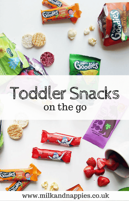 Toddler Snack Ideas - Chantal, Milk & Nappies