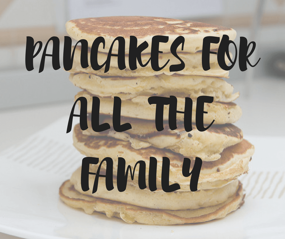 Pancakes for Absolutely Everyone