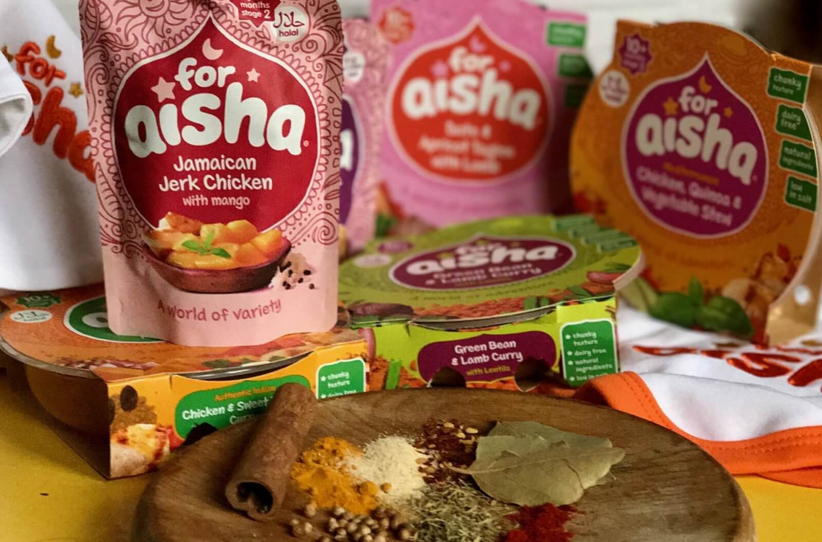 No More Bland Baby Food // For Aisha Review & Giveaway
