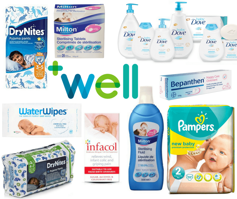 Big Baby Bargain Event at Well Pharmacy