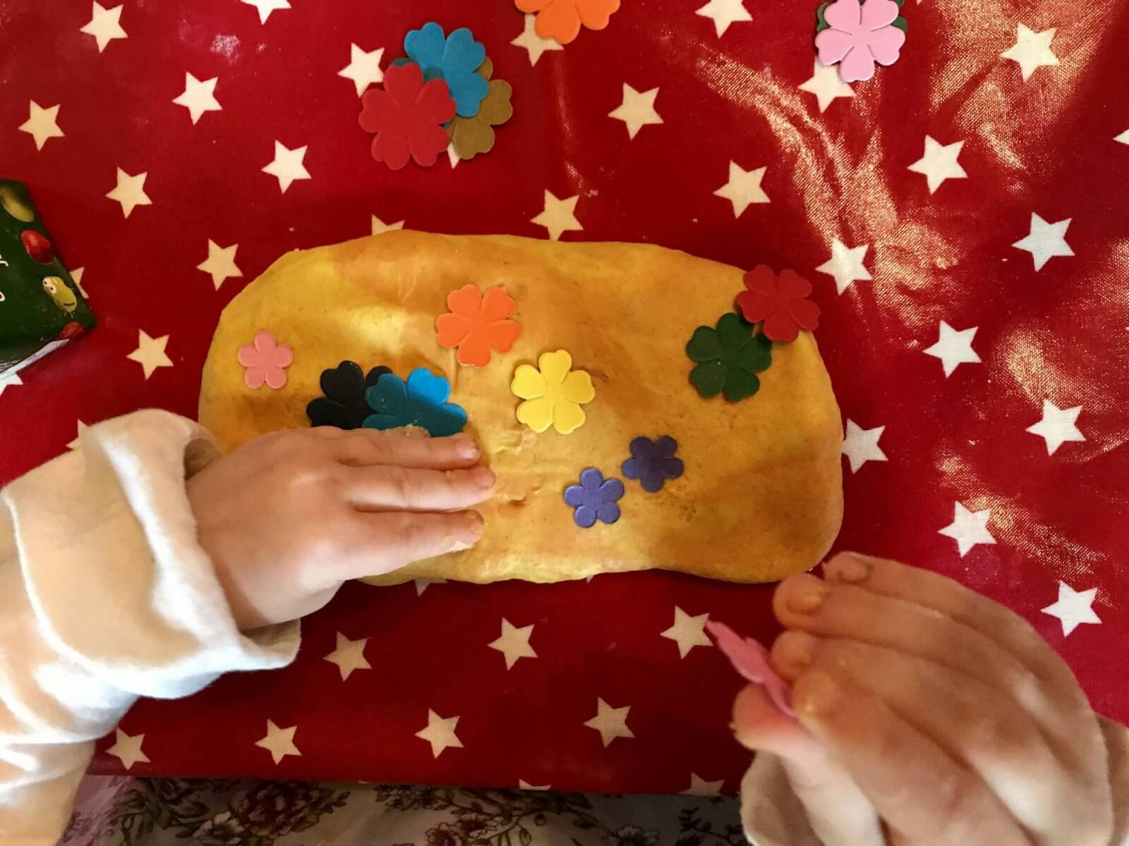 DIY Nature Themed Play-Dough