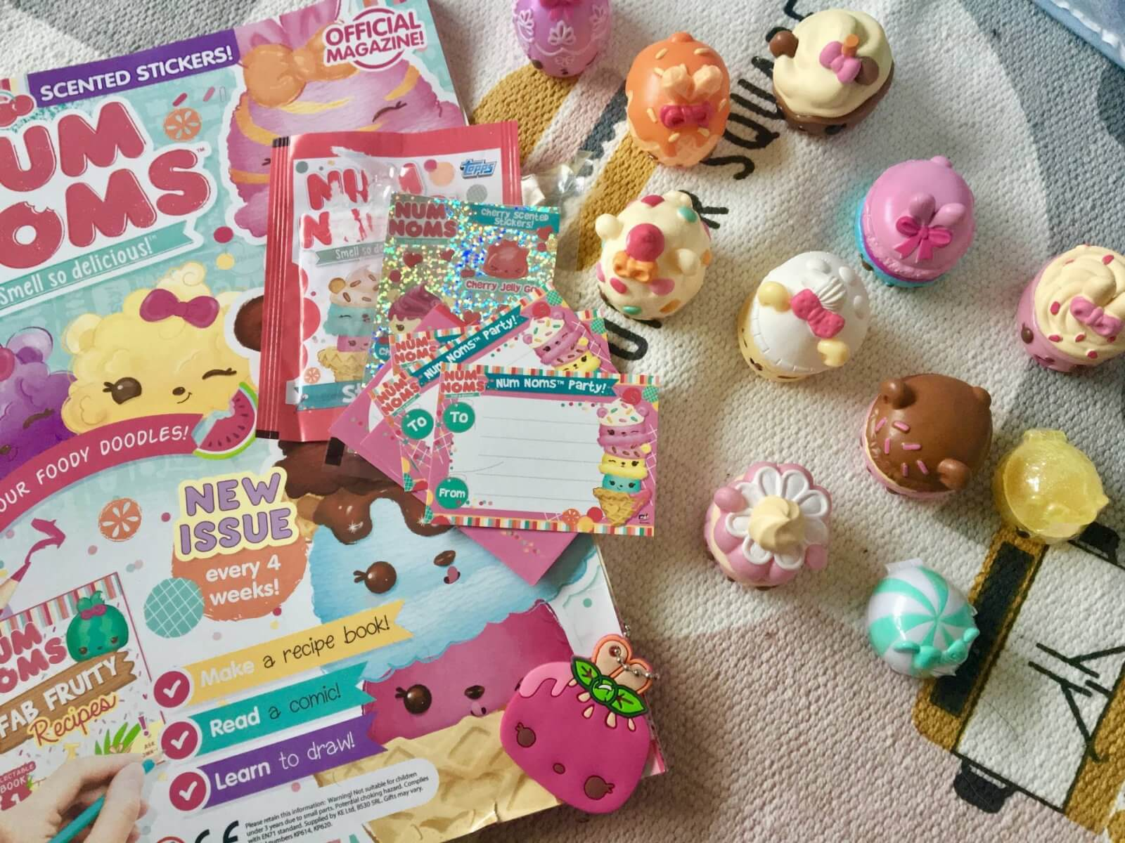 Num Noms Series 4 Review – Sweets Sampler Lunchbox