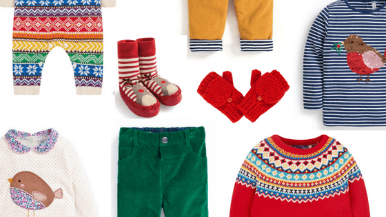 Festive Fashion for Under 3s