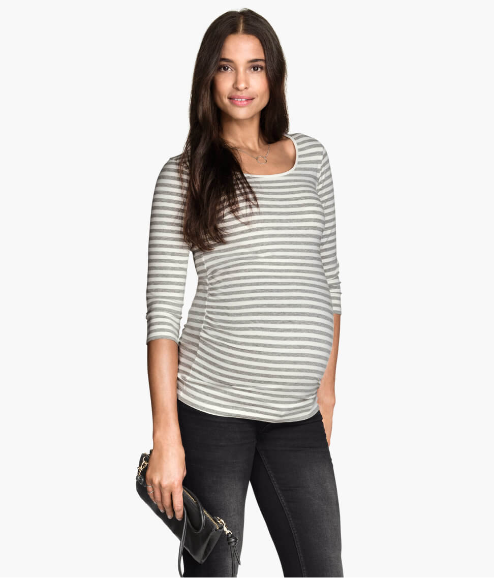 maternity style h&m top