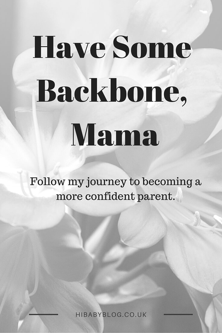 Follow my journey to become a confident parent. I don't want to be a pathetic role model so I'm showing Luisa how to be assertive & kind starting now.