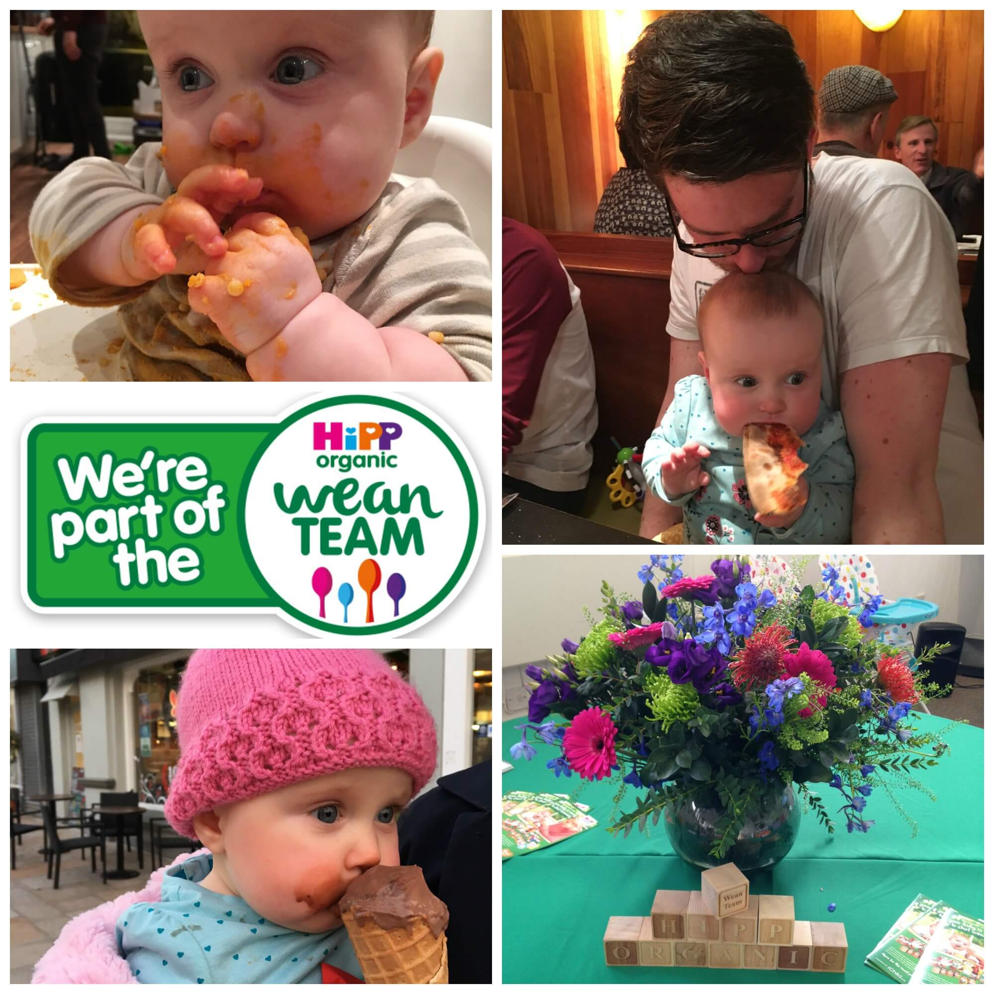 wean team messy collage