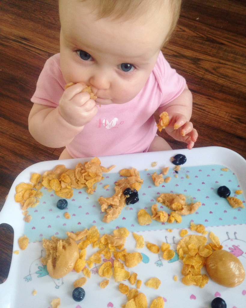 luisa edible play dough baby weaning activity