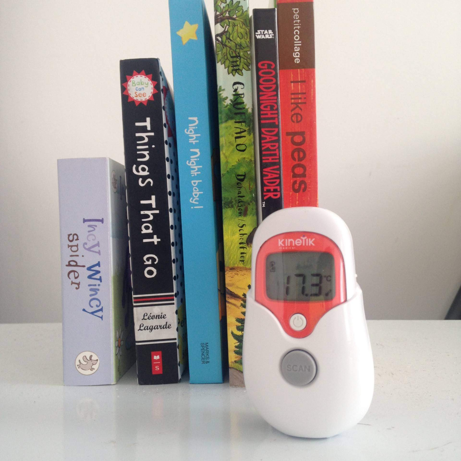 kinetik non-contact thermometer review
