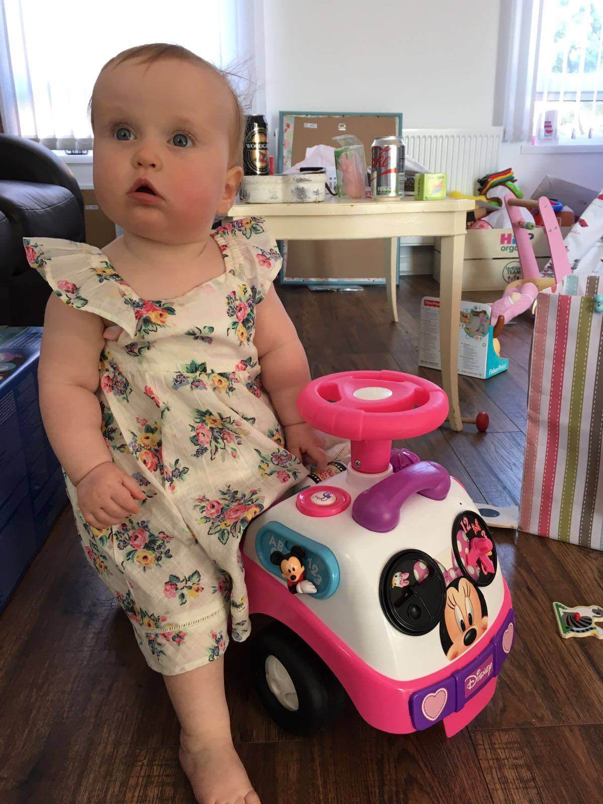 12 month update minnie mouse truck
