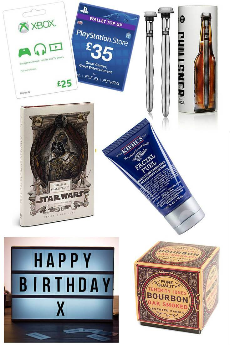 Birthday gift guide for him