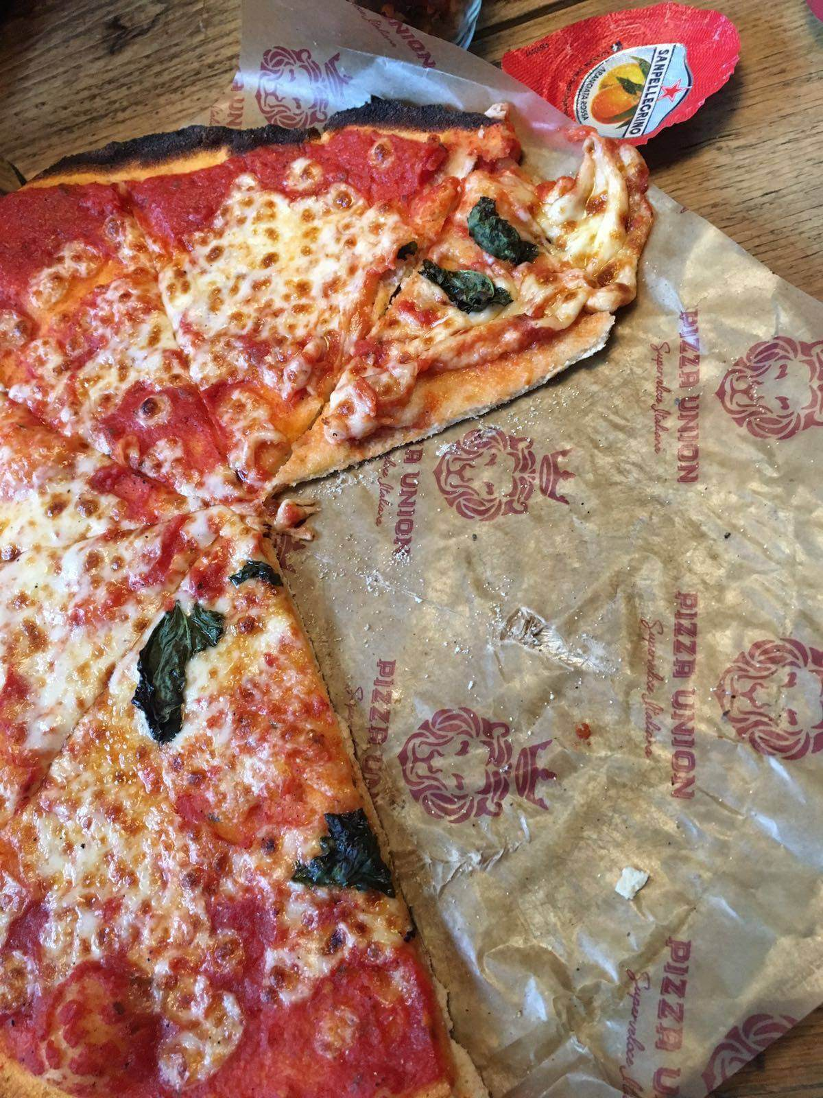 Delicious Pizza from pizza Union, Kings Cross - A weekend in London