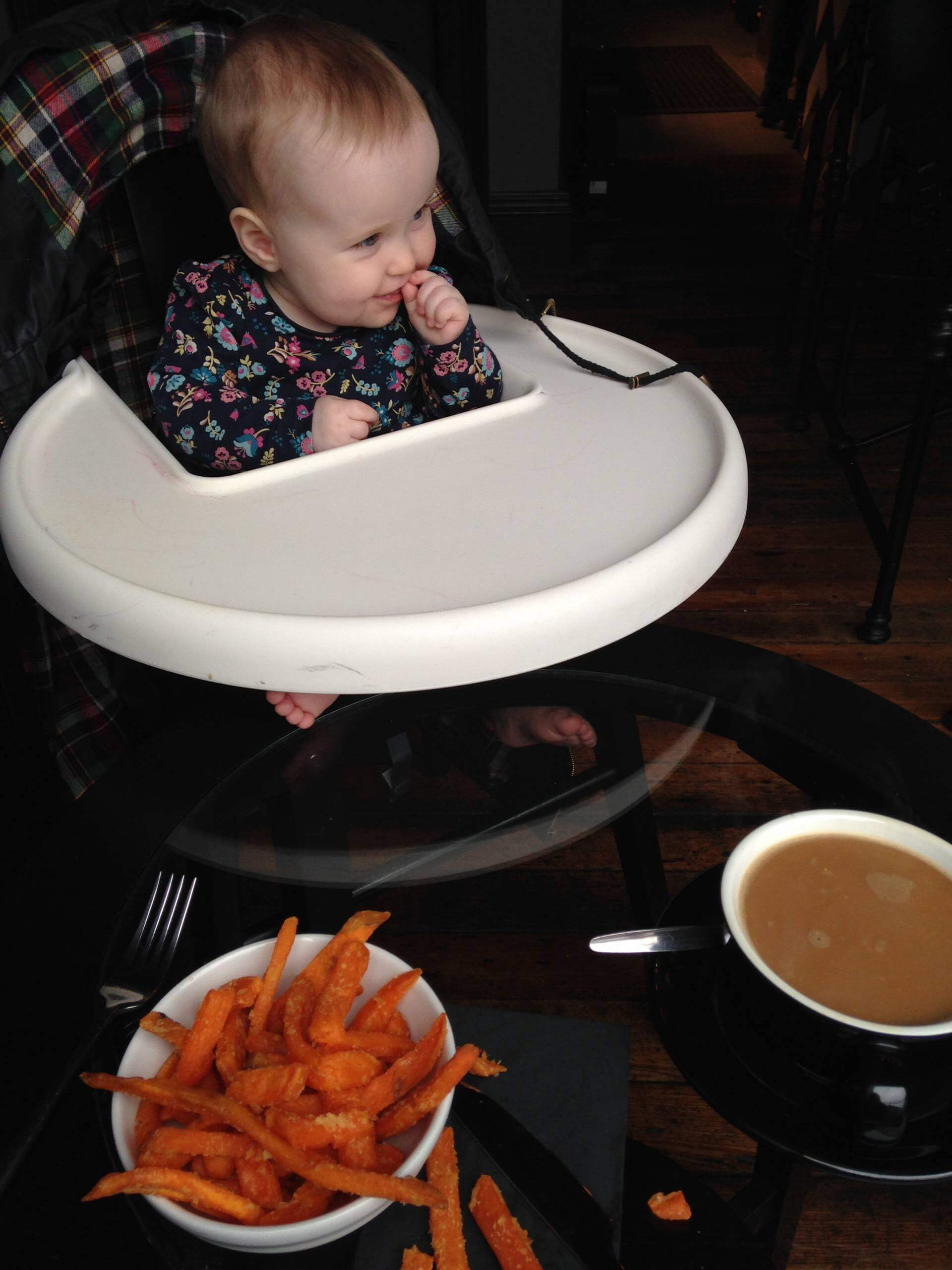 Luisa Baker Street Belfast Sweet Potato Fries Coffee