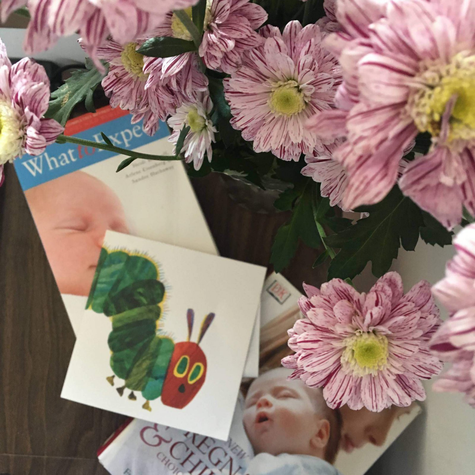 #MCDressMyBump competition Nannies card, books and flowers