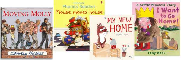 moving house with a toddler - books to help