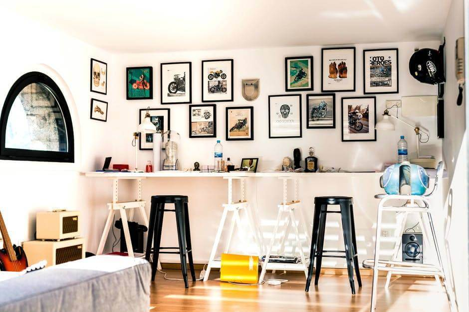 instagram home gallery wall