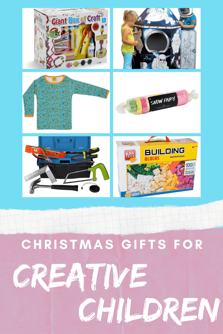 gifts for the creative child, gifts for a creative child, unique christmas gifts for children, gifts for artistic children,